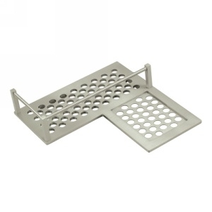 Deltana Heavy Duty Corner Right Shower Basket Shelf WBHDCR9