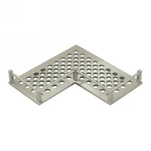 Deltana Heavy Duty Universal Corner Bathroom Basket Shelf, WBHDUC9