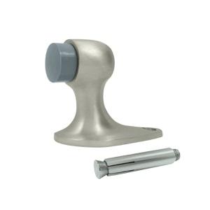 Deltana FDB218 Solid Brass Floor Mount Door Bumper 2 1/8 inch Satin Nickel