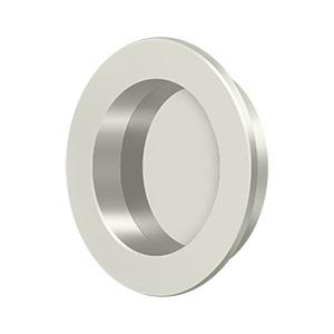 Deltana FP238 Solid Brass Round HD Flush Pull