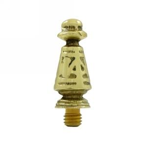 Deltana Solid Brass OrnateTip Finial