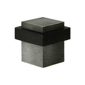 Deltana UFBS138 Square Universal Floor Bumper Antique Nickel (US15A)