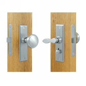 Deltana SDML334 Solid Brass Storm Door Rectangular Mortise Lock