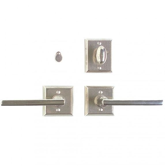 Rocky Mountain E416 & IP418 Square Escutcheon with Olympus Lever