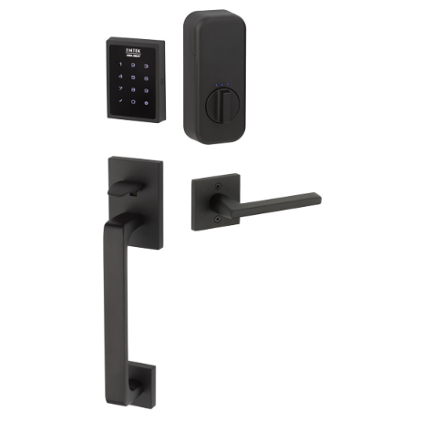 Emtek EMPowered™ EMP1103 US19 Touchscreen Keypad Baden Entry Set - Connected by August