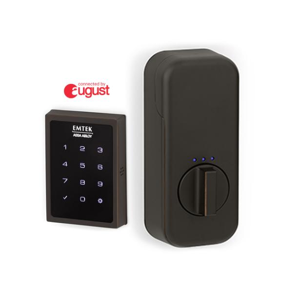 Emtek EMP1101US10B EMPowered Touchscreen SMART Key Pad Deadbolt