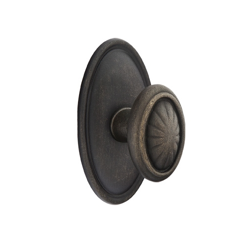Emtek Parma Door knob with #14 Rose Medium Bronze Patina(MB)