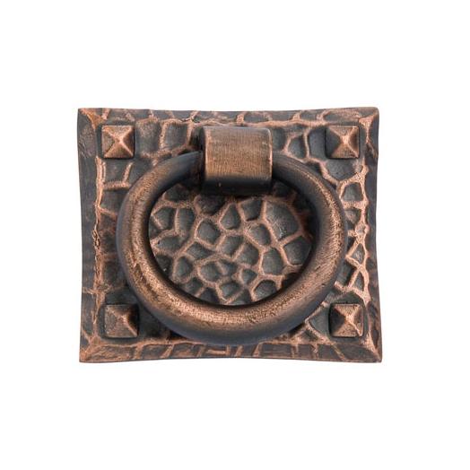 Emtek 86040Hammered Ring Pull Oil Rubbed Bronze (US10B)