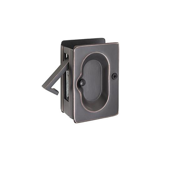 Emtek Passage Pocket Door Lock Oil Rubbed Bronze (US10B)