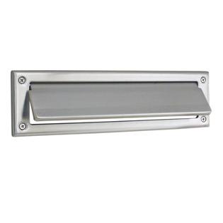 Emtek Solid Brass Mail Slot Satin Nickel (US15)
