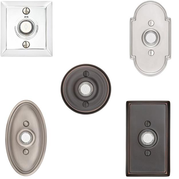 Emtek 2400, 2402, 2403, 2408 $ 2409 Classic Door Bell