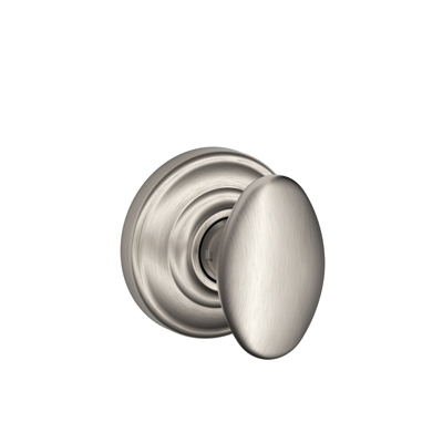 Schlage F170-SIE-AND Siena Single Dummy Door Knob with Andover Rose (619)