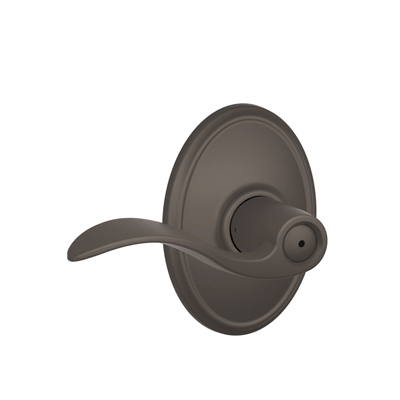 Schlage Accent Lever with Wakefield Decorative Rose in Oil Rubbed Bronze