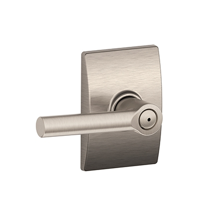 Schlage F40BRW619CEN Broadway Privacy Door Lever Set with Century Rose