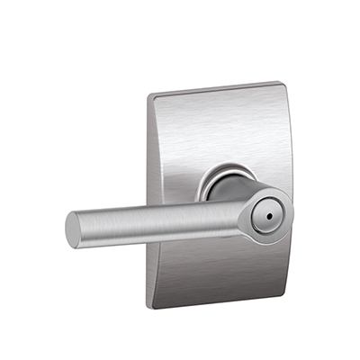 Schlage F40BRW626CEN Broadway Privacy Door Lever Set with Century Rose