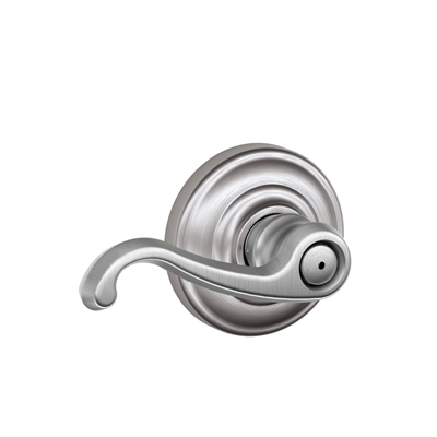 Schlage F40CLT626AND Callington Privacy Door Lever Set with Andover Rose