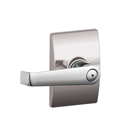 Schlage F40ELA625CEN Elan Privacy Door Lever Set with Century Rose