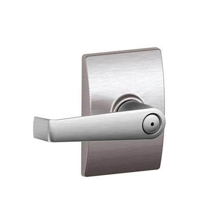 Schlage F40ELA619CEN Elan Privacy Door Lever Set with Century Rose