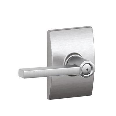 Schlage F40LAT626CEN Latitude Privacy Door Lever Set with Century Rose