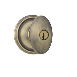 Schlage F51A-Sie-609 Keyed Entry Antique Brass 609