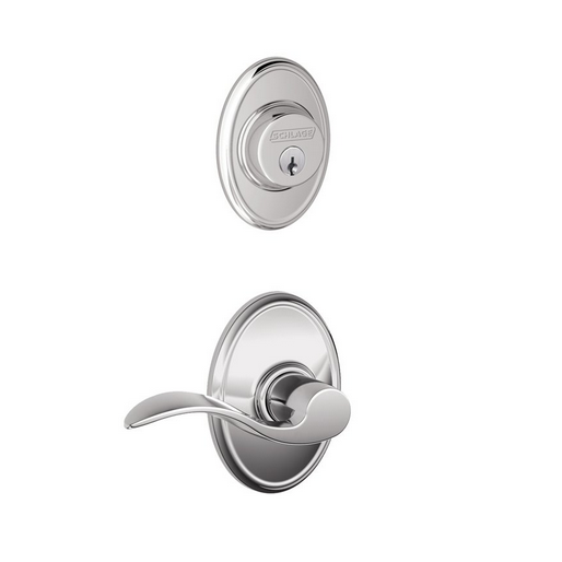 Schlage F57 F59 ACC/WKF Wakefield Single Cylinder Deadbolt with Accent Lever