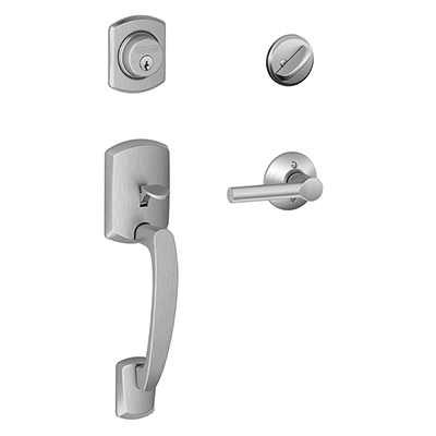 Schlage F60 Greenwich Handleset Low Price Door Knobs
