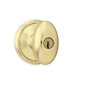 Schlage F80-sie-605 Storeroom Polished Brass