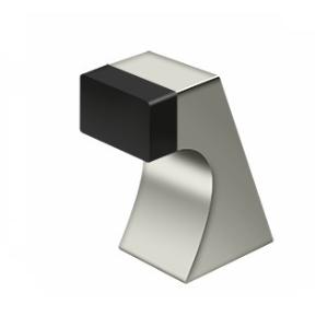Deltana FDB250U14 Contemporary Solid Brass Floor Door Bumper Polished Nickel