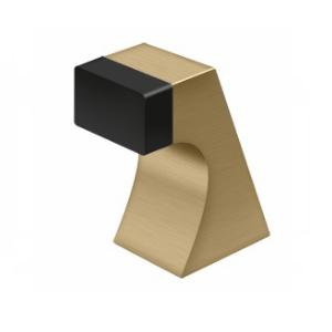 Deltana FDB250U4 Contemporary Solid Brass Floor Door Bumper Brushed Brass