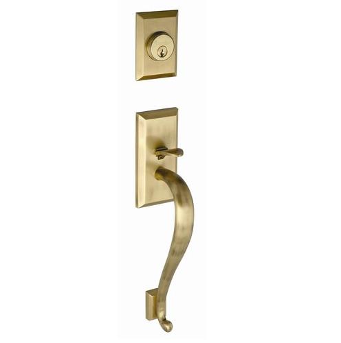 Grandeur Fifth Avenue Handlest, S Grip hown in Vintage Brass (VB)