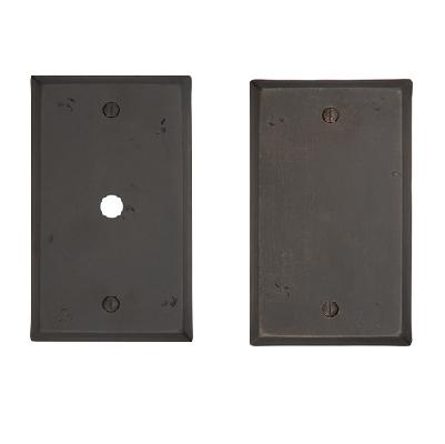 Emtek Rustic Cable Plate/Emtek Rustic Blank Plate