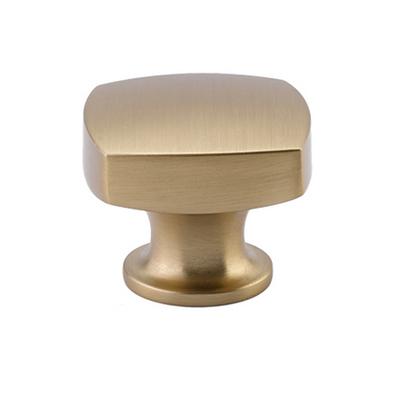 Emtek 86450 Urban Modern Freestone Cabinet Knob   Satin Brass