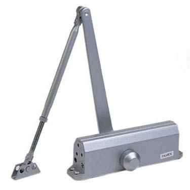 Pamex Heavy Duty GC8700 Series Door Closer shown in Aluminum (AL)