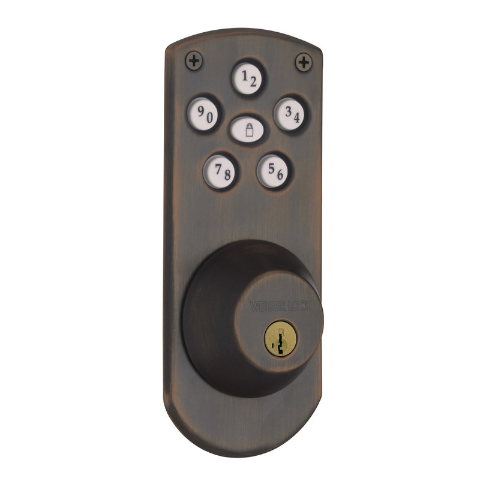 Weiser GED1460X Powerbolt Touchpad Electronic Deadbolt with Weiser keyway