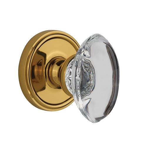 Grandeur Provence Crystal Door Knob Set Low Price Door Knobs