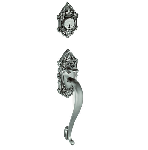 Grandeur Grande Victorian Handleset shown in Antique Pewter (AP)