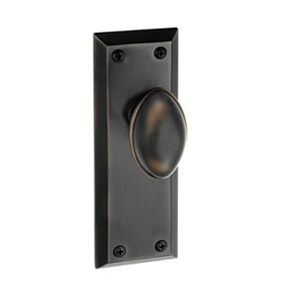 Grandeur Fifth Avenue Backplate with Eden Prairie TB Timeless Bronze