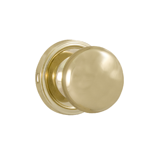 Weslock Impressa 605I Dummy Polished Brass (3)
