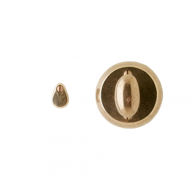 Rocky Mountain IP417 Round Mortise Bolt with Emergency Release Trim