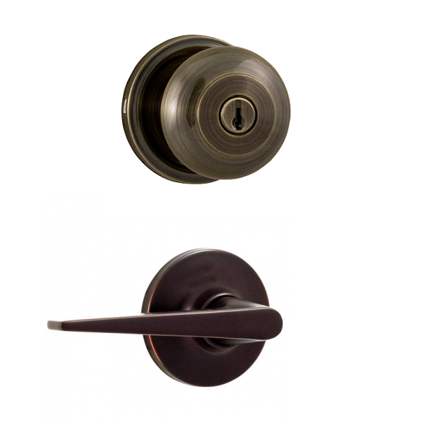 Weslock Traditionale Collection 640i 2 Knob X Urbana Lever