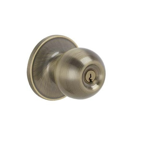 Dexter J54 Cna Keyed Entry 609 Antique Brass