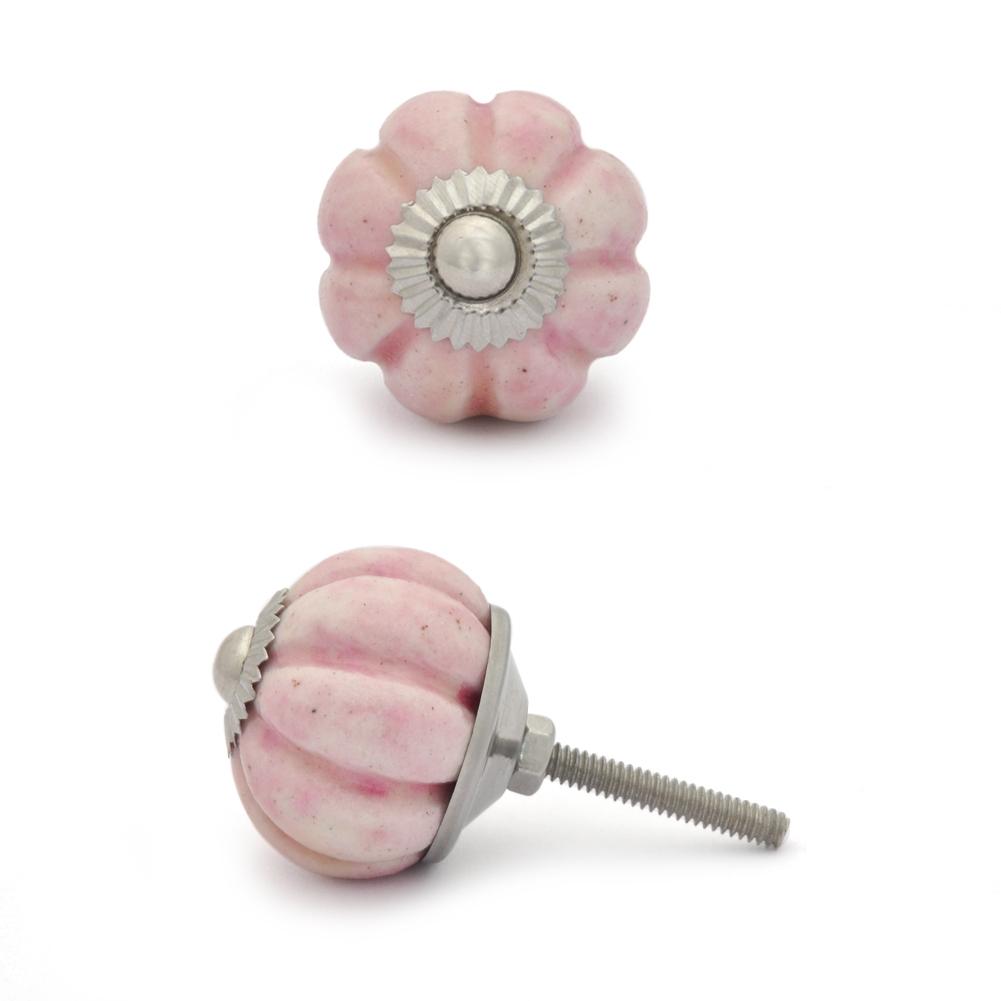 PotteryVille Pink Melon Cabinet knob