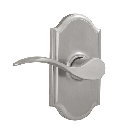 Weslock 1710U Bordeau Privacy with Premiere Rose Satin Nickel