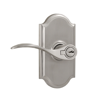 Weslock 1740U Bordeau Keyed Entry with Premiere Rose Satin Nickel