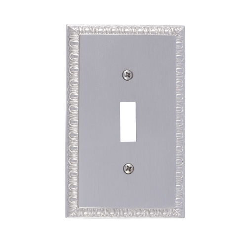 Brass Accents M05-S7500-619 Egg & Dart Single Switch Plate