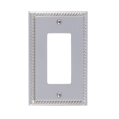 Brass Accents M06-S8520-619 Georgian Single GFCI Switch Plate