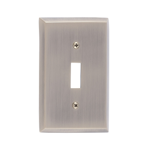 Brass Accents M07-S4500-609 Quaker Single Switch Plate