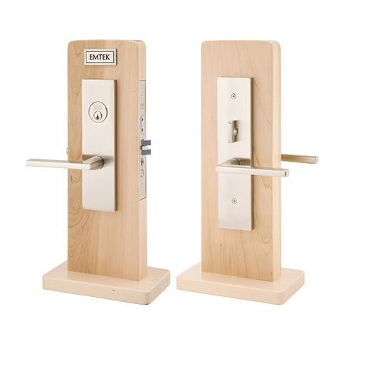 Emtek Mormont Mortise Entrance Lockset with Helios Lever 3545,3145