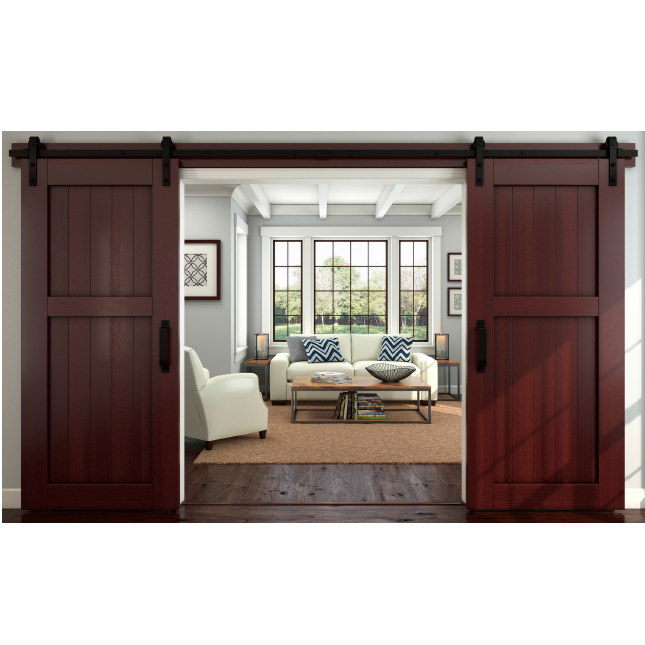 National hardware n186 960 decorative interior sliding for Decorative interior barn doors