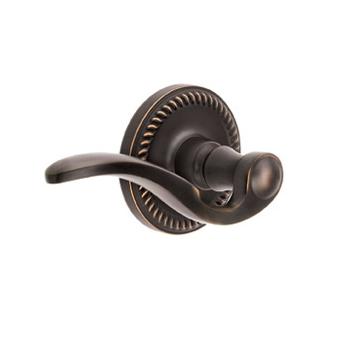 Grandeur Bellagio Lever with Newport Rose Timeless Bronze (TB)